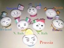 Hetalia Mochi Easter Eggs! by NiniIs1