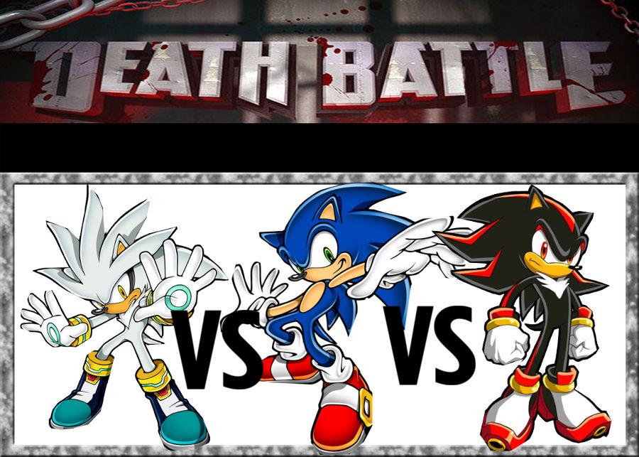 Death Battle Shadow Vs Sonic Vs Silver By Mergedzamasuva On Deviantart