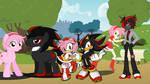 Equestria Girls/MLP/Sonic- Shadamy by MergedZamasuVA