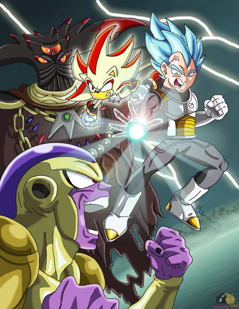 DBZ and Sonic- Resurrection Of Frieza  Black Doom by CyrilSmith