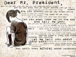 Dear Mr. President by K4t4ku