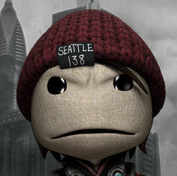 InFamous Second Son - Sackboy Avatar