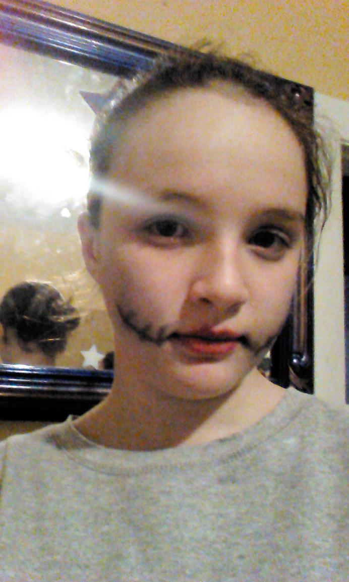 One Last Halloween Selfie by Cynderroks