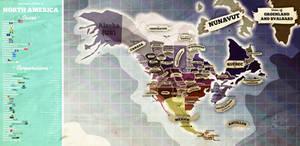 Postapo North America by theSuricateProject