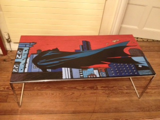 Batman Table by Nick-Bray