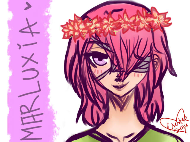 Marluxia by cheritree