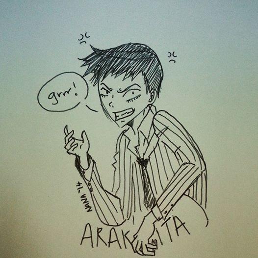 Arakita Yasutomo by cheritree