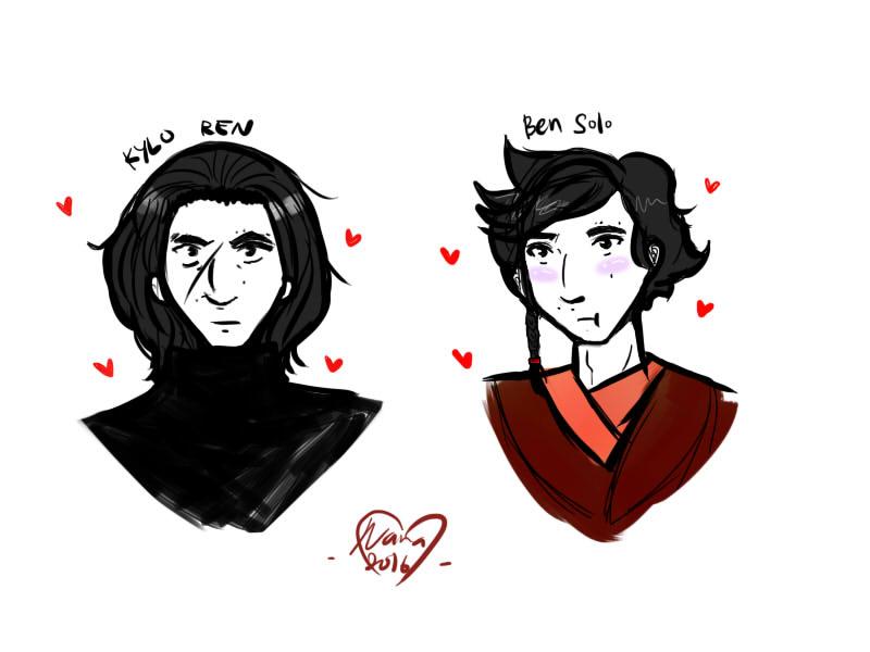 Kylo Ben by cheritree