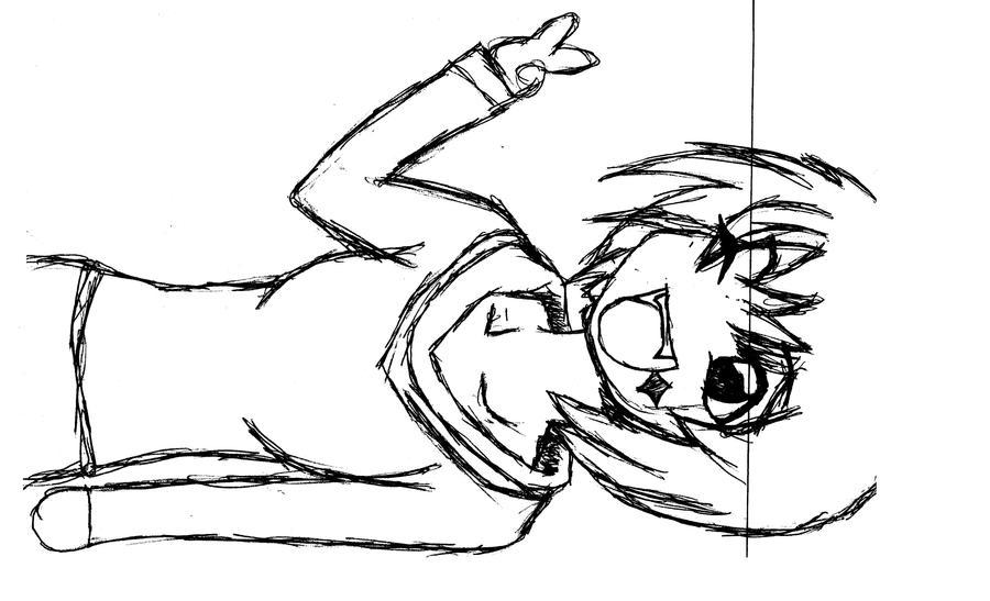 Peace Sign Anime Anime Girl Sayin Peace by