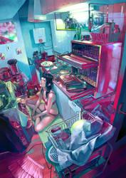 kitchen by zain7