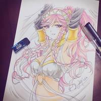 Fire Emblem Awakening's Olivia by NekoponArt