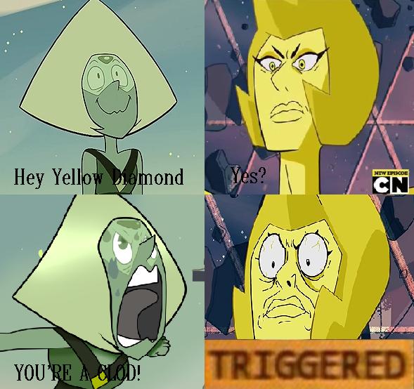 Steven Universe TRIGGERED Meme by NiteOwlX on DeviantArt