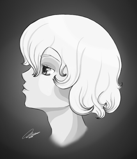 My self as a Victoria buste by Dunayay