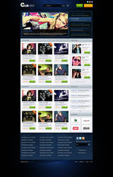 Electro music site