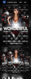 Wonderful Kiss - Party Flyer by Pergair