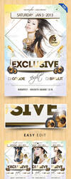 Exclusive Party Flyer by Pergair