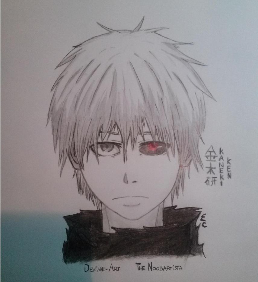 Kaneki Ken Tokyo Ghoul Sketch By TheNoobArtista On DeviantArt