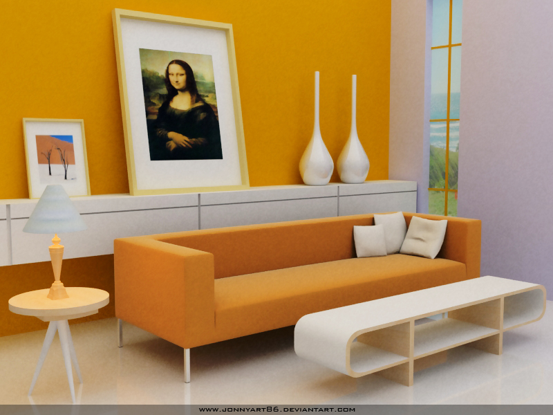 Yellow Interior By Jonnyart86 On Deviantart