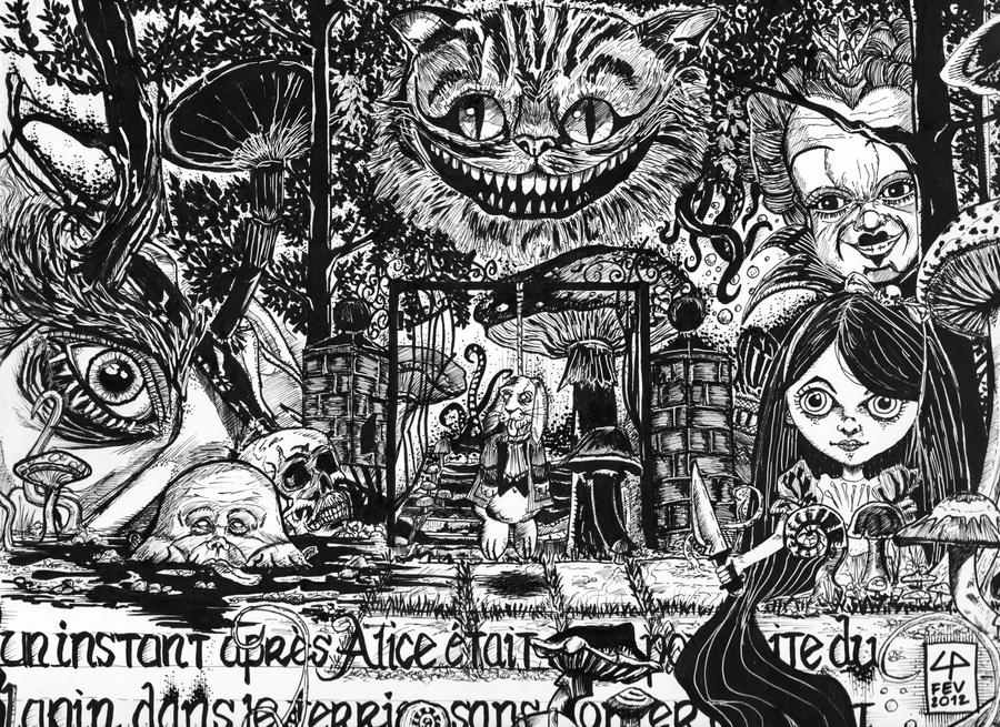 Alice in MY Land by Legribouilleur