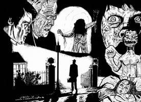 The exorcist by Legribouilleur