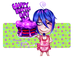 Happy B-day from Mephisto by CIELO-PLUS