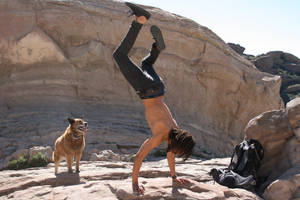 Handstand by heypeter
