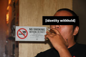 No Smoking by heypeter