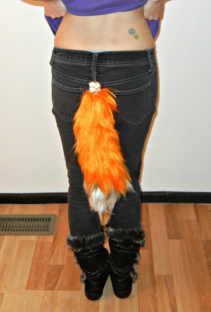 My fox tail by KittiKristy