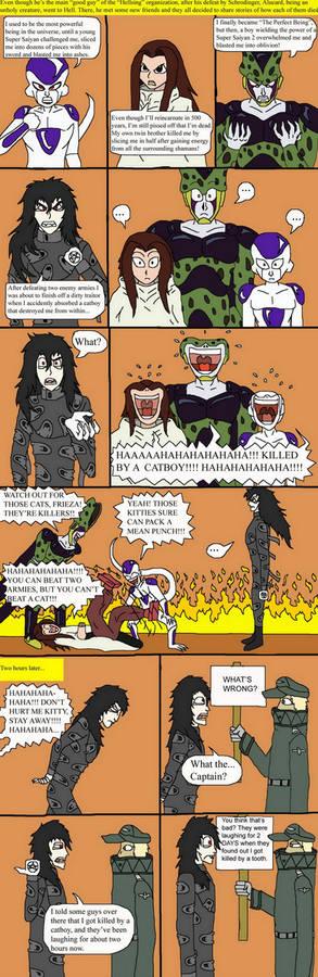 Hellsing bloopers 2-In Hell