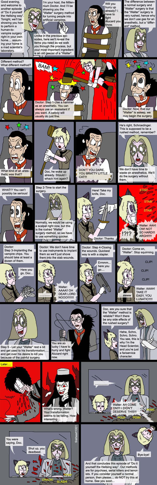 Hellsing bloopers 44 surgery by fireheart1001 on deviantart hellsing bloopers 44 surgery by fireheart1001 solutioingenieria Gallery