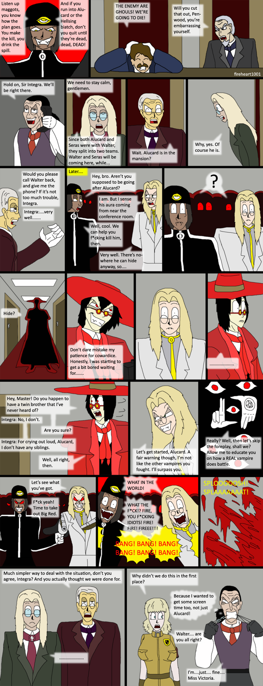 Hellsing bloopers 55-Simple by fireheart1001