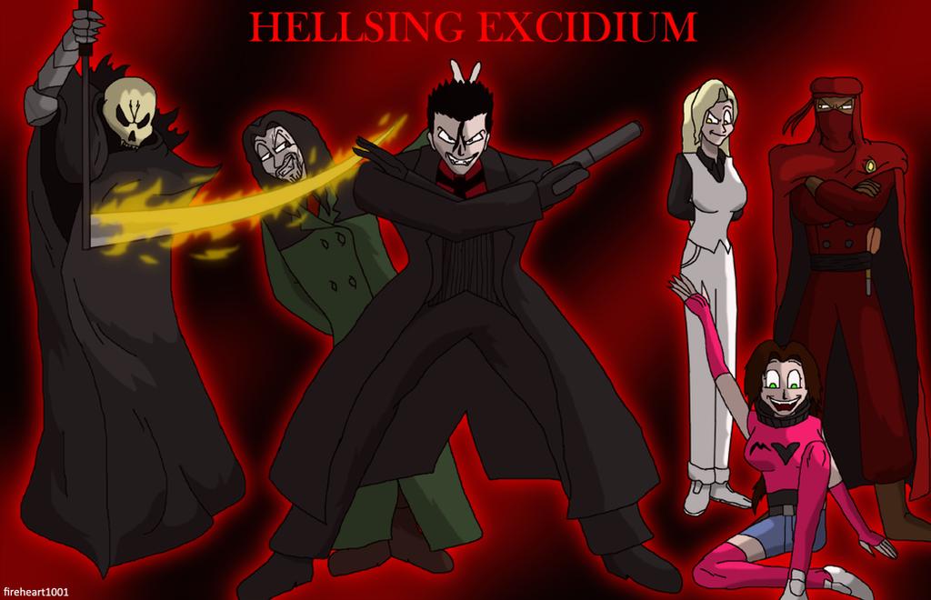 The Fatum gang by fireheart1001