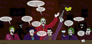 6 Jokers walk into a bar...