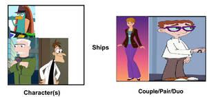 OWCA and Doofensmirtz Ship Haley and Carl