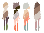 open 4/4 palette adopts by rosemary-and-cherry