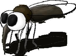 a mosquito by camaradepopof