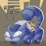Cat's car