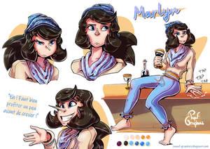 MARLYN Character Sheet