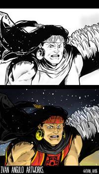 Ayawarmi of Irreversible comic - Coming soon