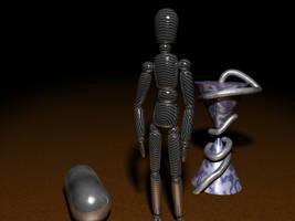 Standing Metal Man 800x600