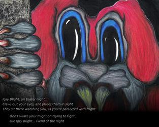 Igsy Blight by JoeEyeMonster