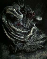 Dread creature II by JoeEyeStepOnMonsters
