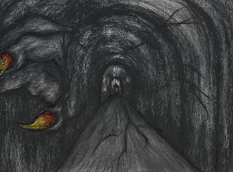 Dark traveled through corridors