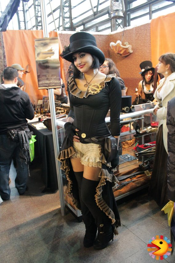 Steampunk outfit by SailorFran