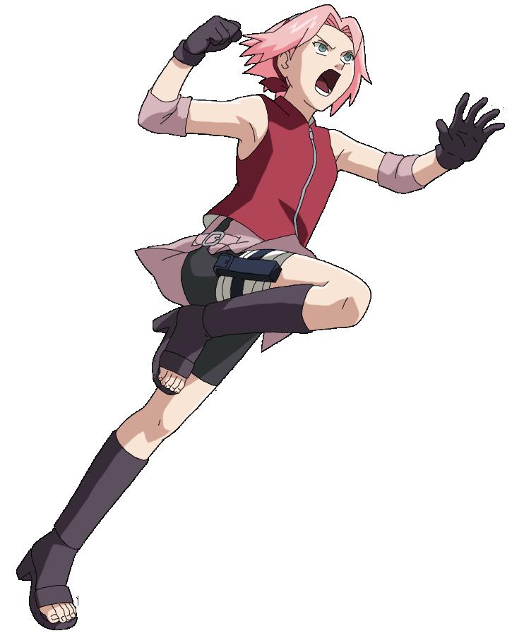 Haruno Sakura Jump And Punch Chan DeviantartSakura Punch