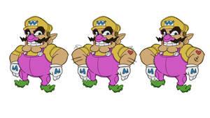 Wario - Super Mario [Color]