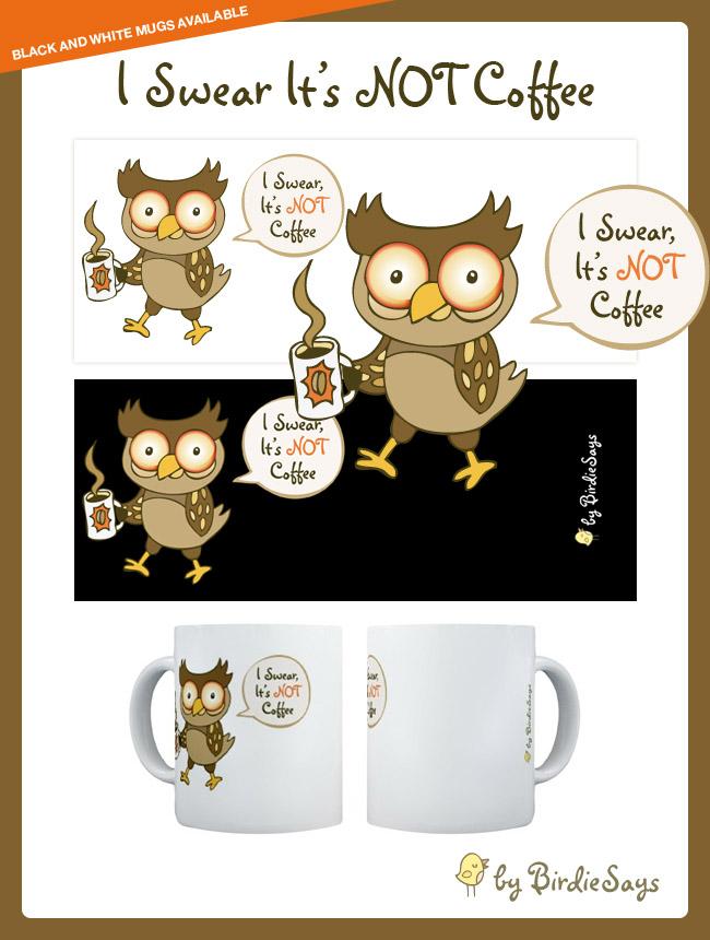 BS - I Swear It's NOT Coffee by arwenita