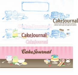 CakeJournal - sketch to vector