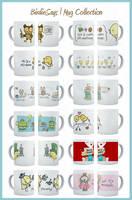 BirdieSays - Mug Collection by arwenita