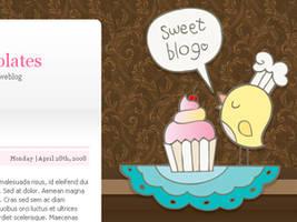 Free Sweet Blog for Wordpress by arwenita